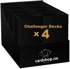 Magic: The Gathering Challenger deck 2019 - 4-pack bundle