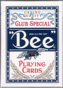 Bee Playing Cards - Blå