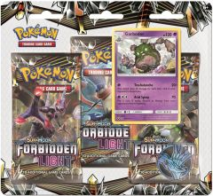 Pokémon Sun & Moon Forbidden Light Blister 3 pack - Garbodor