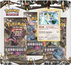 Pokémon Sun & Moon Forbidden Light Blister 3 pack - Regigigas