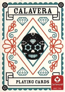 Cartamundi Poker - Calavera Playing Cards