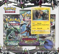 Pokémon Sun & Moon Celestial Storm Blister 3 pack - Tapu Koko