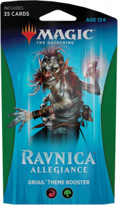 Magic The Gathering Ravnica Allegiance Theme Booster - Gruul