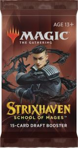 Strixhaven, School of Mages draft booster pack