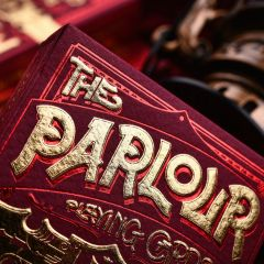 The Parlour Playing Cards - Rød