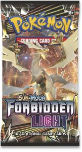 Pokémon S&M Forbidden Light Booster Pack