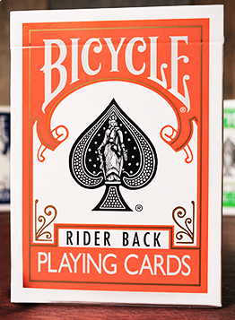 Bicycle Rider Back - Oransje