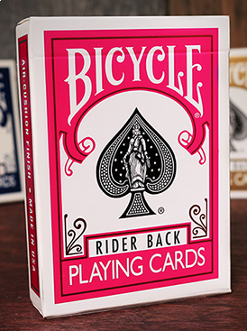 Bicycle Rider Back - Fuksia