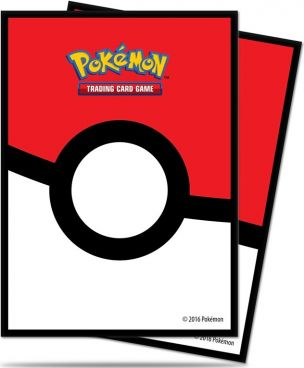 Pokémon Deck Protectors - Pokeball - 65 stk