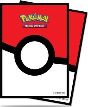 Pokémon Deck Protectors - Pokeball - 65 stk