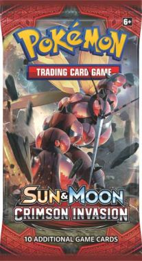 Pokémon S&M Crimson Invasion Booster Pack
