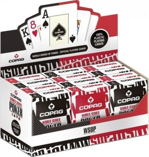 World Series of Poker kortstokker 12-pack