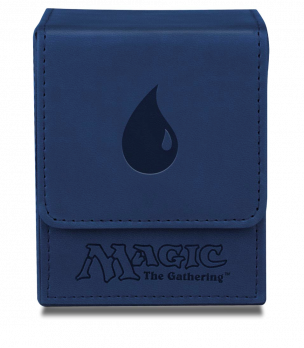 Deck Box MTG Flip Blue