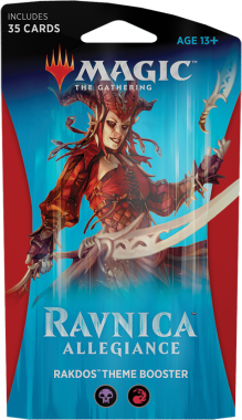 Magic The Gathering Ravnica Allegiance Theme Booster - Rakdos
