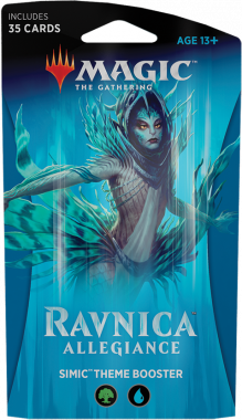 Magic The Gathering Ravnica Allegiance Theme Booster - Simic