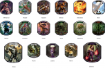 Relic Tokens Lineage Collection for Magic The Gathering